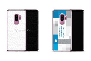 Galaxy S9 Plus 2d PC Clear Case