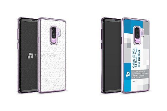Galaxy S9 Plus 2d PC Clear Case