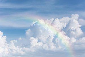 beautiful classic rainbow