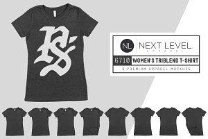 Next Level 6710 Women's Triblend Tee