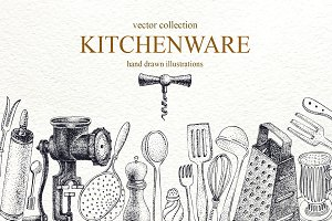 Kitchenware Vector Collection
