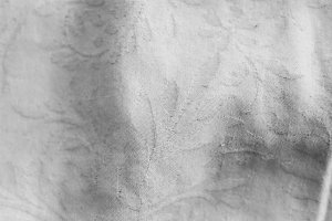 Cloth Texture in White