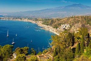 Taormina coast