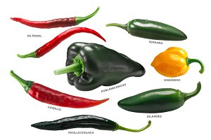 Mexican Chile Peppers