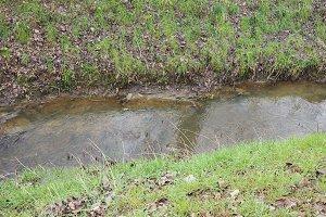 rivulet of water