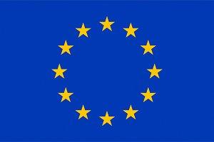 Flag of Europe, texturised