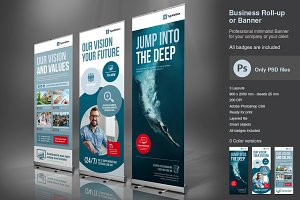 Business Roll-up Vol.3 PSD