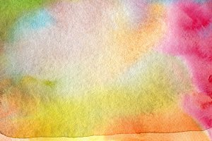 Abstract watercolor paint