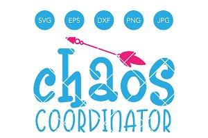 Chaos Coordinator SVG Cut File
