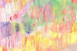 Abstract textured acrylic