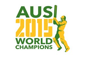 Australia AUS Cricket 2015 World Cha