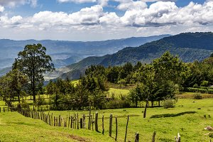 Landscape view of Kerio Valley