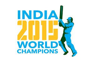 India Cricket 2015 World Champions I