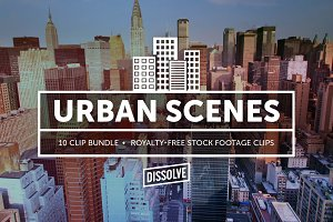 Urban Scenes: Stock Footage Bundle