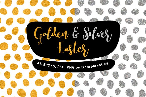 Golden And Silver Easter