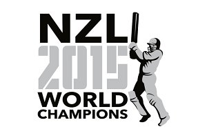 New Zealand NZ Cricket 2015 World Ch