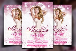 Angel Party Flyer