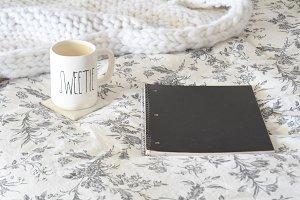 Cozy in Bed Stock Photos