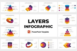 Layers Infographics PowerPoint