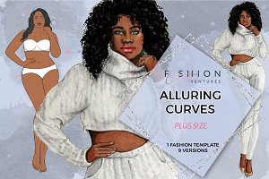 Alluring Curves Fashion Figure