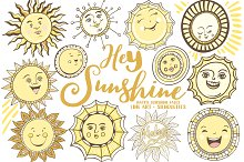 Summer Sun, Vector & PNG Graphics