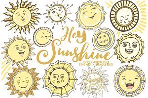 Summer Sun, Vector & PNG Graphics
