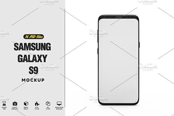 Samsung Galaxy S9 App Mockup