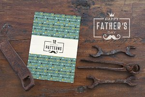Father's Day Seamless Patterns