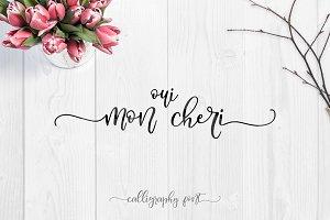 Oui, Mon Cheri Font