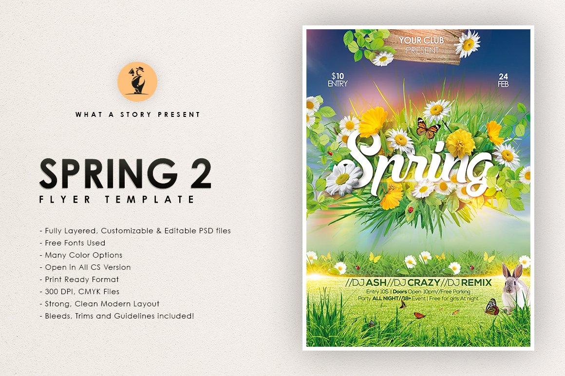 Spring Templates Creative Market