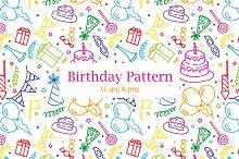 Birthday Party - Pattern $4