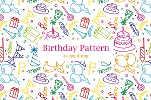 Birthday Party - Pattern $4