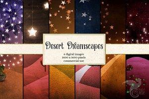 Desert Dreamscapes Digital Paper