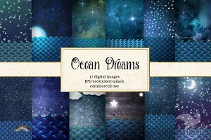 Ocean Dreams Backgrounds