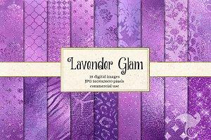Lavender Glam Digital Paper