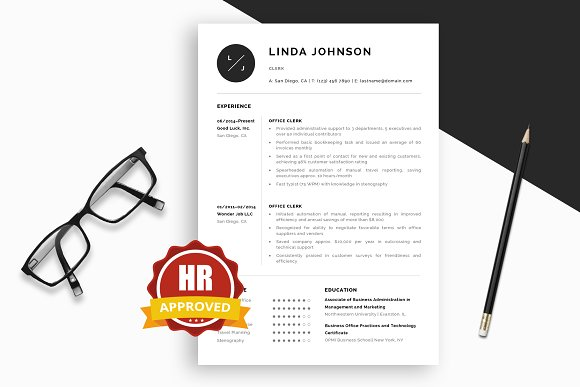 Clerk Resume Cover Letter Gu..
