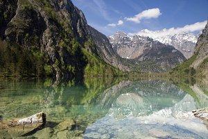 Lake Obersee near Berchtesgaden