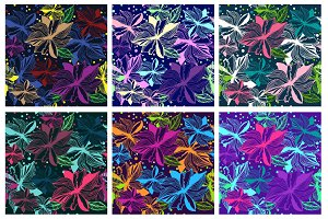 Floral seamless pattern Background, cloth, wallpaper, scrapbooking, wrapping