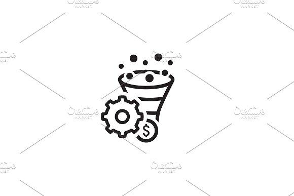 Conversion Rate Optimisation Icon