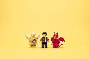 Between devil or angel