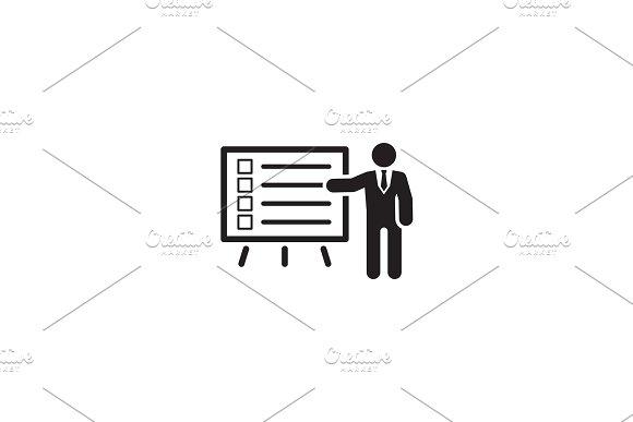 Problem Statements Icon Flat Design