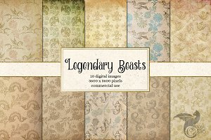 Legendary Beasts Digital Paper