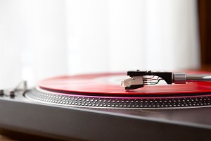 Vinyl Record Player Turntable