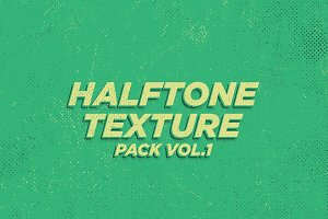 Halftone Texture Pack Vol. 1