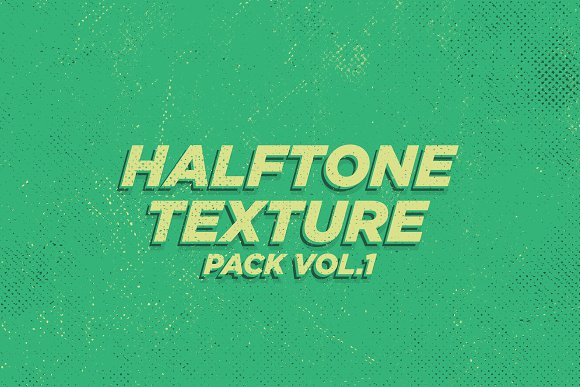 Halftone Texture Pack Vol 1