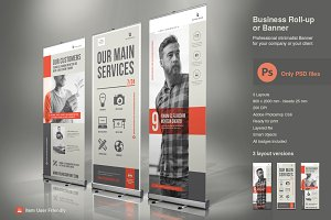 Business Roll-Up Vol. 5 PSD