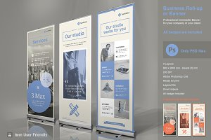 Business Roll-Up Vol. 4 PSD