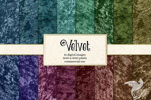 Velvet Digital Paper Textures