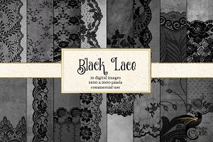 Black Lace Backgrounds