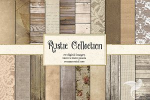 Rustic Backgrounds Variety Pack
